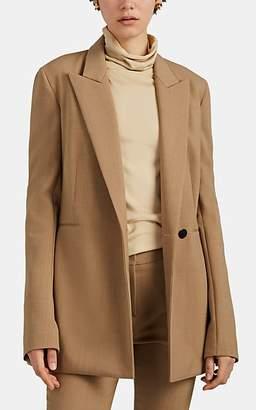 The Row Women's Ciel Splittable Wool Double-Breasted Blazer - Camel