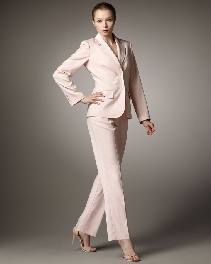 Albert Nipon Straight-Leg Pantsuit