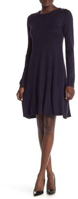 Vince Camuto Long Sleeve Knit Dress