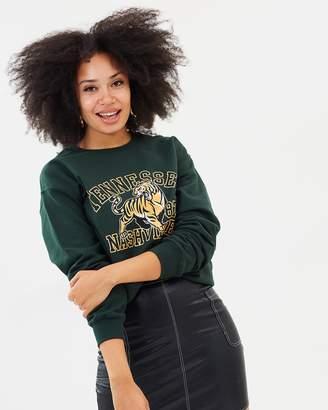 Missguided Tennessee Nashville Sweatshirt