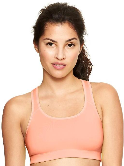 Gap Medium impact keyhole sports bra