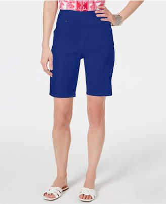 INC International Concepts I.n.c. Pull-On Bermuda Shorts