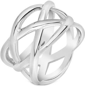 Celtic Sterling Forever Silver Knot Ring