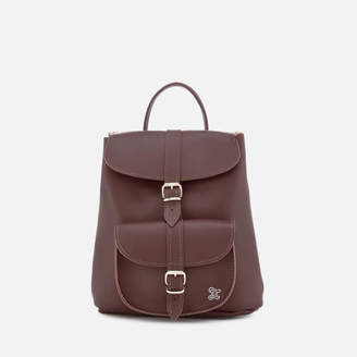 Grafea Women's Audrey Baby Backpack - Burgundy