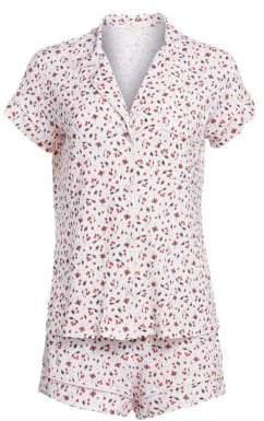 Eberjey Amarena Two-Piece Pajama Set