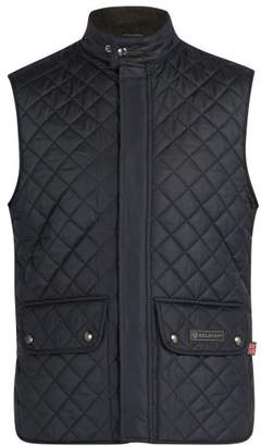 Belstaff Quilted Padded Gilet - Mens - Navy