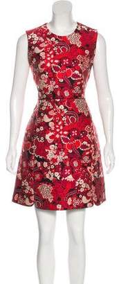 Giambattista Valli Jacquard A-Line Dress
