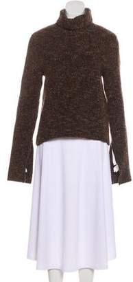 Celine Heavy Wool Turtleneck