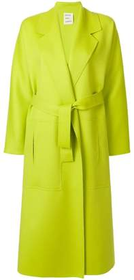 Maison Rabih Kayrouz long belted tailored coat