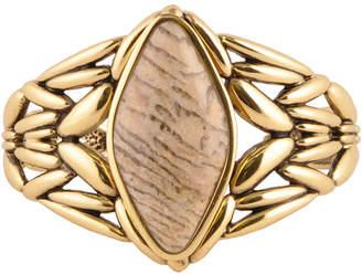 Artsmith BY BARSE Art Smith by BARSE Genuine Jasper Brass Cuff Bracelet