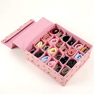Tune Up Dust-Proof Drawer Dividers Closet Organizers Underpants Scarf Towels Underwear Storage Boxes with cover