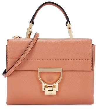 Coccinelle Arlettis Salmon Leather Cross-body Bag