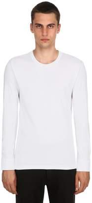 Extra-Soft Lyocell Long Sleeve T-Shirt