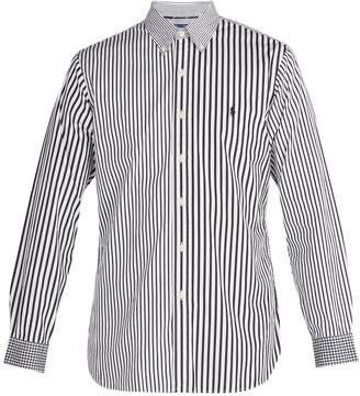 Polo Ralph Lauren Stripe and gingham-print cotton shirt