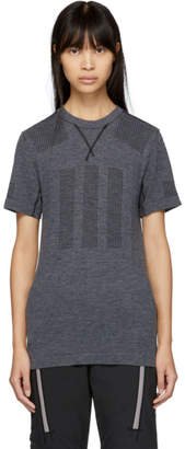 adidas DAY ONE Grey Primeknit Base Layer T-Shirt