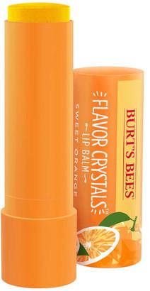 Burt's Bees Flavour Crystals 100% Natural Moisturising Lip Balm - Sweet Orange 4.53g