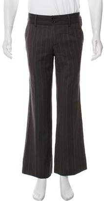 Dolce & Gabbana Pinstriped Wool Pants