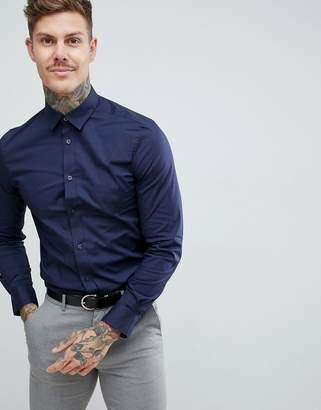 Ben Sherman stretch poplin slim fit shirt