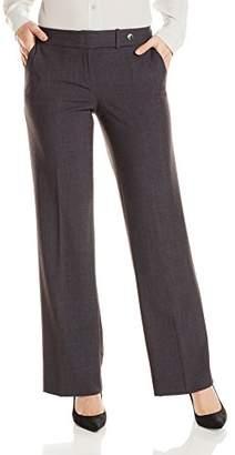 Calvin Klein Women's Petite Size Straight-Leg Pant
