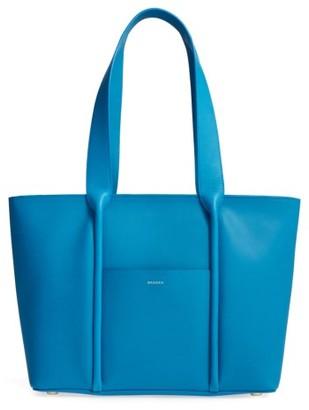 Skagen Lisabet Leather Tote - Blue $295 thestylecure.com