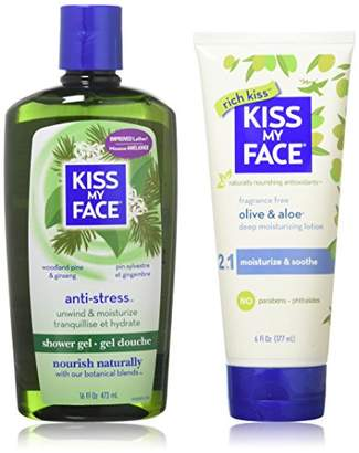 Kiss My Face Bath & Body Gift Set