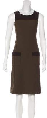 Prada Sleeveless Knee-Length Dress
