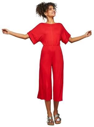 Miss Selfridge Orange Kimono Sleeve Jumpsuit