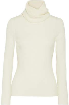 Vanessa Seward Etoile Merino Wool Turtleneck Sweater - Cream