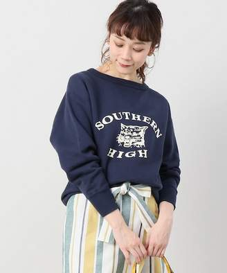 Spick and Span (スピック アンド スパン) - Spick and Span 【YOUNG&OLSEN】VINTAGE PRINTED SWEAT