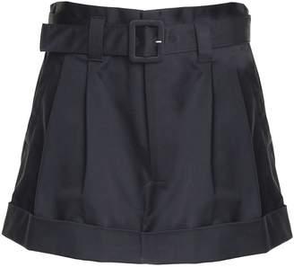 Marc Jacobs Paper Bag-waist Cotton Shorts