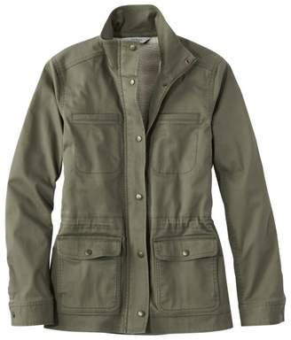 L.L. Bean L.L.Bean Women's Classic Sherpa-Lined Utility Jacket