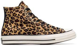 Converse Leopard print Chuck Taylor 70's high-top sneakers