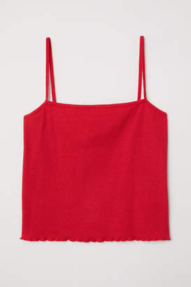 H&M Short Camisole Top - Red