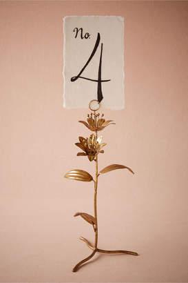 Secret Garden Number Holder