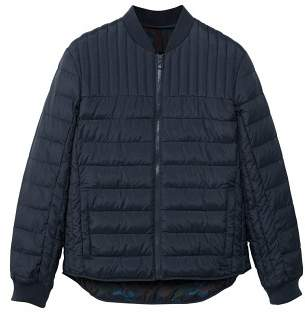 Mango man MANGO MAN Quilted bomber jacket