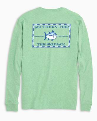 Southern Tide Heathered Original Skipjack Long Sleeve T-shirt