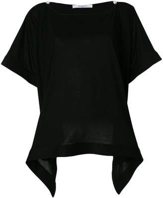 Givenchy draped hem T-shirt