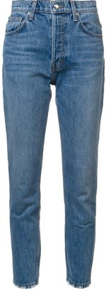 Derek Lam 10 Crosby Lou high-rise classic straight leg jeans $235 thestylecure.com
