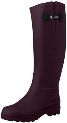Aigle Women's Aiglentine Wellington Boots - Aubergine