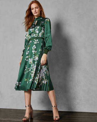 Ted Baker JHENNI Graceful satin midi dress