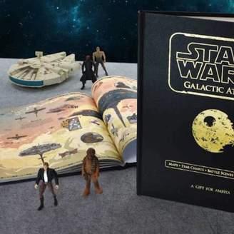 Star Wars TheLittleBoysRoom Luxury Personalised Galactic Atlas Book