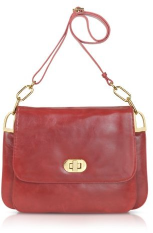 Badgley Mischka Coralie Shine - Leather Shoulder Bag
