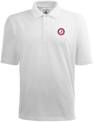 Antigua Men's Alabama Crimson Tide Pique Xtra Lite Polo