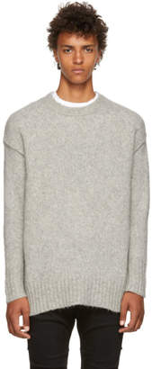 R 13 Grey Oversized Sweater