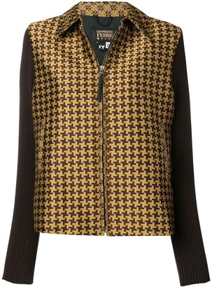Gianfranco Ferre Pre-Owned 2000's checked jacket