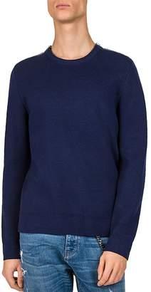 The Kooples Zip-Shoulder Sweater