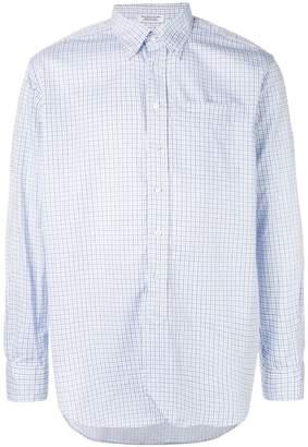 Engineered Garments check long-sleeve shirt