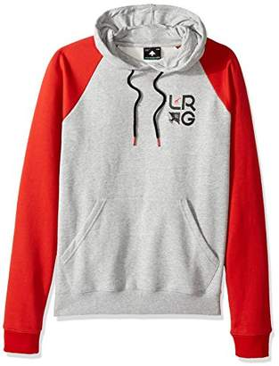 Lrg Men's Research Collection Raglan Pullover Hoody