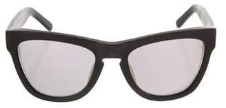 Westward Leaning Westward\\Leaning Mirrored Wayfarer Sunglasses w/ Tags