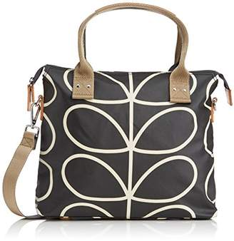 Orla Kiely Core Linear Zip Messenger Shoulder Bag